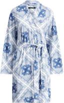 Ralph Lauren Cotton-Blend Kimono Robe