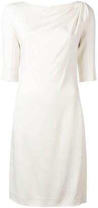 Lanvin Plain Sheath Dress