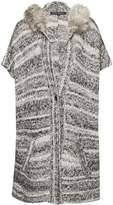 French Connection Irma Melange Knit Cardigan Coat