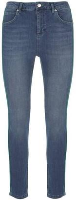 Mint Velvet Maryland Blue Side Stripe Jean