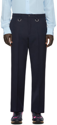 Valentino Navy Rings Trousers