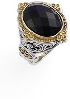 Konstantino 'Nykta' Faceted Stone Ring