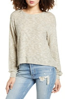 Pst By Project Social T Cozy Waffle Knit Top