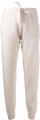 Allude Slim-Fit Casual Trousers