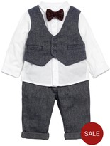 Mamas and Papas Baby Boys 4 Piece Navy Outfit