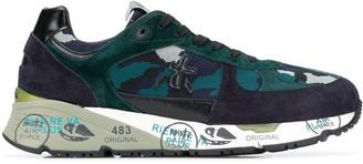 Premiata Django camouflage low-top sneakers