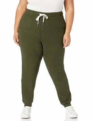 Forever 21 Women's Plus Size Drawstring Joggers