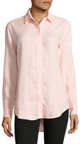 Lord & Taylor Linen Blouse