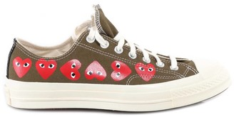 Comme des Garcons X Converse Multi Heart Sneakers