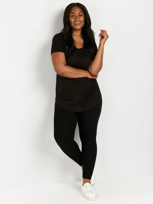 Evans Ponte Legging - Black