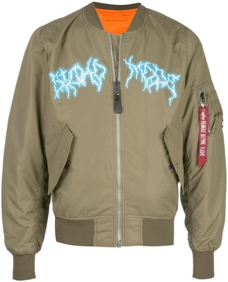 Travis Scott Astroworld Sicko Mode bomber jacket