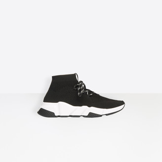 Balenciaga Stretch textured knit trainers with contrasting textured sole