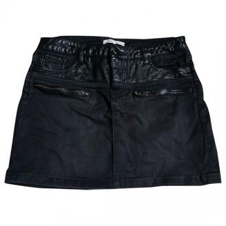 Maje Grey Cotton Skirt for Women
