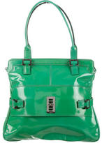 Mulberry Patent Leather Shoulder Bag