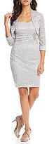 Jessica Howard Petite Lace 2-Piece Jacket Dress