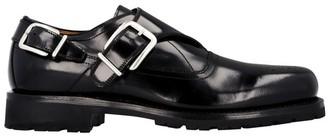 Dries Van Noten Buckles perforated shoes