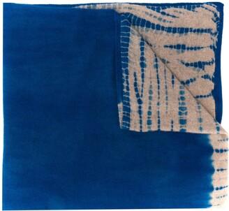 Suzusan Tie-Dye Print Scarf