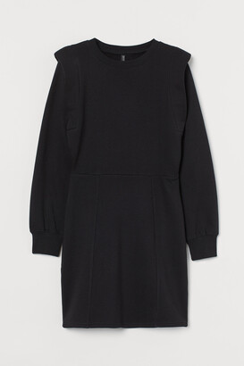 H&M Fitted Sweatshirt Dress