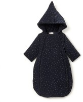 La Redoute Collections Polka Dot Printed Hooded Coat Birth-2 Years