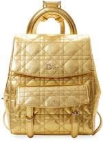 Christian Dior Women's Metallic Leather Backpack