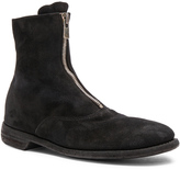 Guidi Stag Suede Zipper Boots