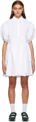Cecilie Bahnsen SSENSE Exclusive White Esther Dress