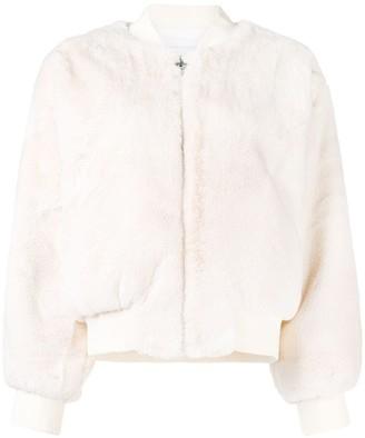 Chiara Ferragni Blinking Eye zipped jacket