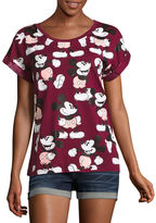 Mighty Fine Mickey Mouse Graphic T-Shirt- Juniors