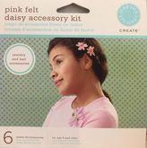 Martha Stewart Create Pink Felt Daisy Flower Accessory Kit