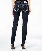 Miss Me Dark Wash Embellished Skinny Jeans