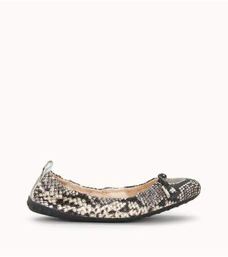 Tod's Tods Ballerinas In Reptile-Printed Leather