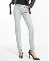 Express low rise heathered editor ankle pant
