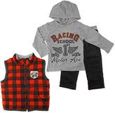 Asstd National Brand Boys Long Sleeve Pant Set-Toddler