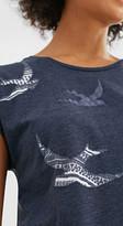 Esprit Soft T-shirt + rubber-coated printed motifs