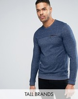 Ted Baker TALL Sweat with Zip Detail