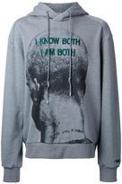 Juun.J embroidered hoodie - men - Cotton - 46