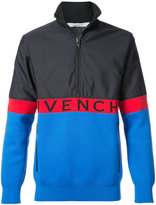 Givenchy contrast panel windbreaker