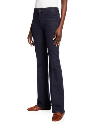 Altuzarra Serge Flared Denim Pants
