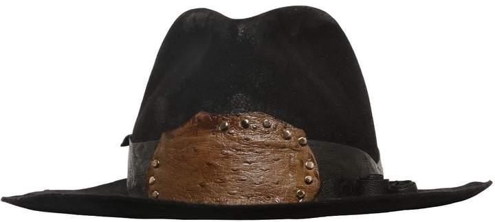 Möve Lapin Felt Hat W/ Patchwork Hatband