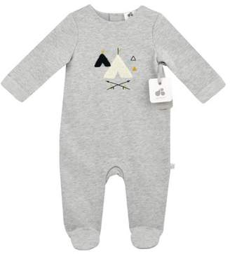 Just Born Skipping Stones Newborn Baby Boy Coverall
