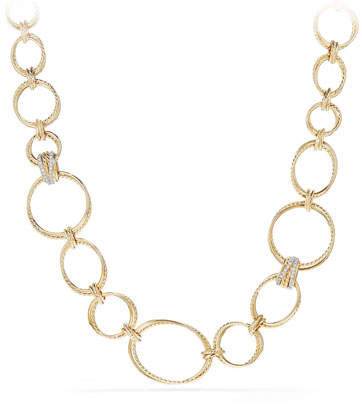 David Yurman Crossover Convertible Necklace/Bracelet in 18K Gold