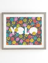 DENY Designs Yolo by Bianca Green (Framed)