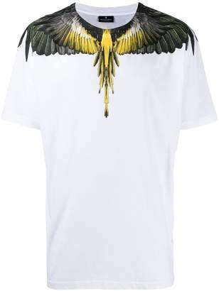 Marcelo Burlon County of Milan printed wings T-shirt