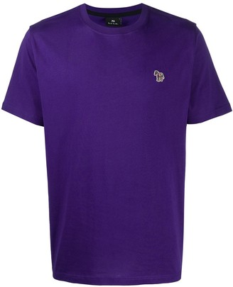 Paul Smith zebra logo organic cotton T-shirt