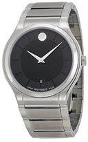 Movado Men's Quadro 0606478 Stainless-Steel Swiss Quartz Watch