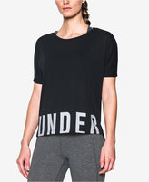 Under Armour Oversized Logo Training Top