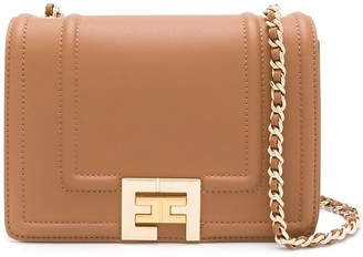 Elisabetta Franchi Small Logo Shoulder Bag
