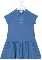 Burberry polo dress - kids - Cotton/Spandex/Elastane - 4 yrs