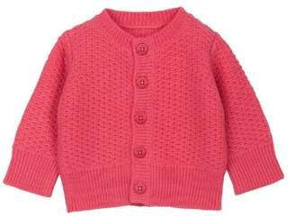 Petit Bateau 64770480 Girls' Cardigan - Pink - 3 Months