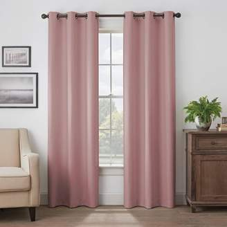 Eclipse Martina Solid Absolute Zero 100% Blackout Window Panel